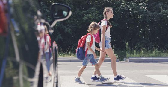 lapsed jalakäijad